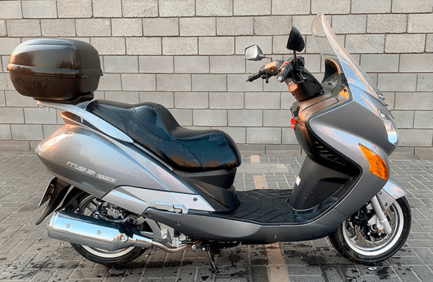 Hyosung MS3 250 for rental
